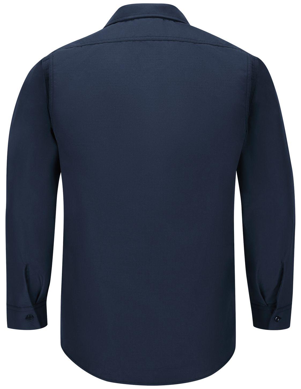 Workrite FR Shirt Jacket FST2, Ripstop, Tactical Navy Back