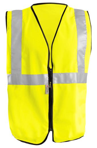 Occunomix OccuLux High Visibility Economy Vest LUX-SSGZ Front