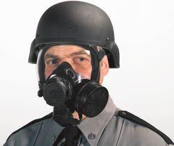 MSA Millennium Riot Control Gas Mask