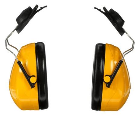 3M Peltor Optime 98 Ear Muffs H9P3E Cap-Mount Front