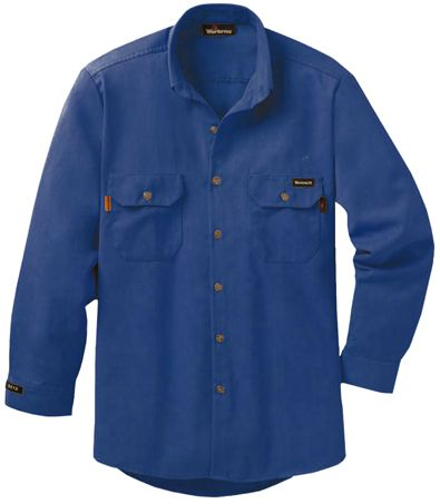 Workrite 7 oz Nomex FR Dress Shirt 258MH70 Royal Blue
