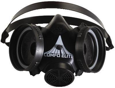 MSA Comfo Elite Half-Mask Respirator no Cartridges