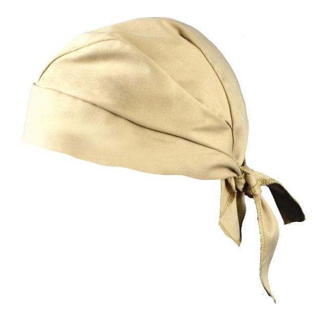 Occunomix TN5-INFR Flame Resistant Tie Hat Doo Rag Khaki