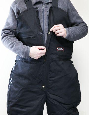 RefrigiWear ComfortGuard High Bib Work Overall 0685 - Front Zipper