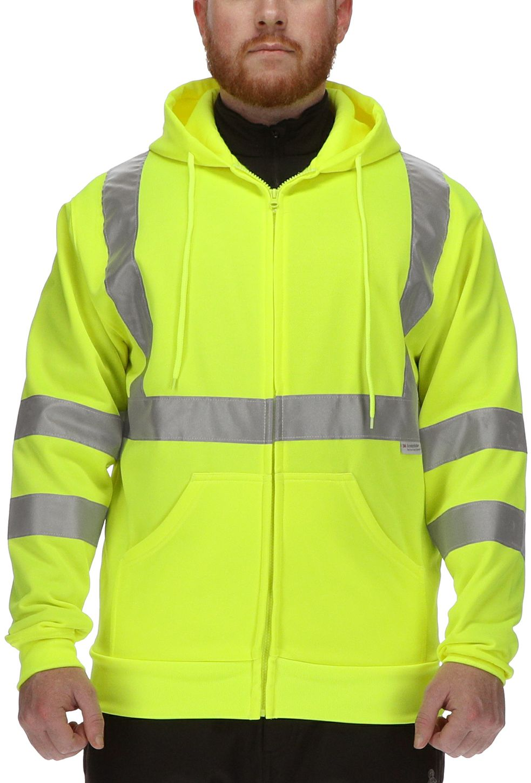 RefrigiWear 0484 HiVis Work Sweatshirt Example