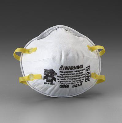 3M 8210 Particulate Respirator, N95
