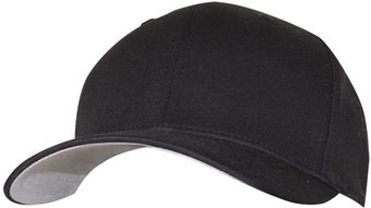 RefrigiWear 6196 Fitted Cotton Blend Cap Dozen Black