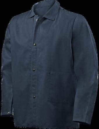 """Steiner Weldlite Flame Retardant Jacket Cotton 30"""" 1060 Front"""