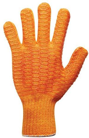 RefrigiWear Cold Weather Apparel - Acrylic Honeycomb Grip Gloves 0312