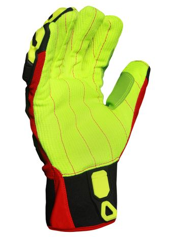 Ironclad INDI-CCP Industrial Impact Cotton Corded Palm Gloves
