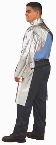 CPA 19 oz Aluminized Carbon Kevlar Open Back Coat