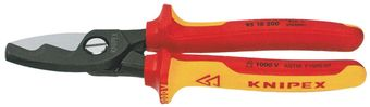 Knipex Tools Lineman's Insulated Cable Shears 95 18 200 SBA