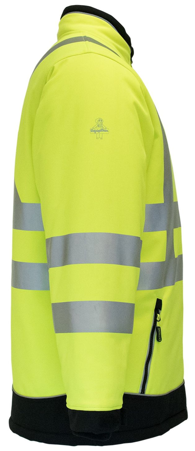 RefrigiWear 0796 HiVis Extreme Collection Softshell Jacket Right
