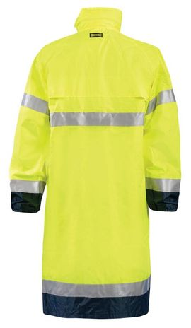 Occunomix LUX-TJRE High Visibility Breathable Rain Jacket Long Back