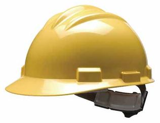 Bullard S61 High Density Polyethylene Hard Hat with Pinlock Suspension