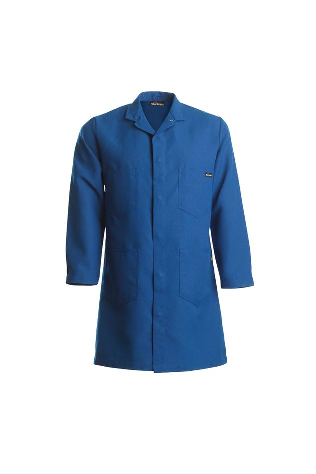 workrite-knl8-4-pocket-lab-coat-royal-blue-front