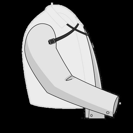 Otterlayer aluminized cape sleeves SC5-ACF