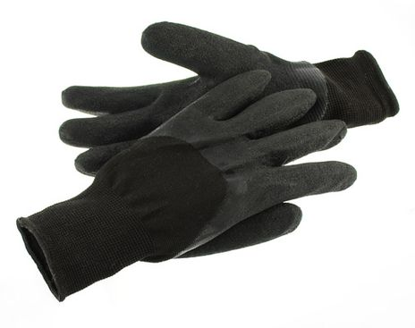 Specialty Nylon Safety Glove w/ Premium Textured Latex Palm and Knuckles