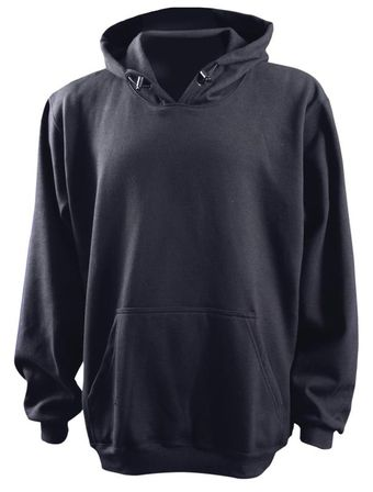 Occunomix FR Arc Flash Pullover Hoodie - Midnight Blue LUX-SWTFR Front