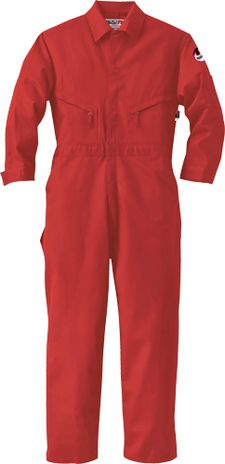 Red Color Ar Flash Coverall from Walls FR