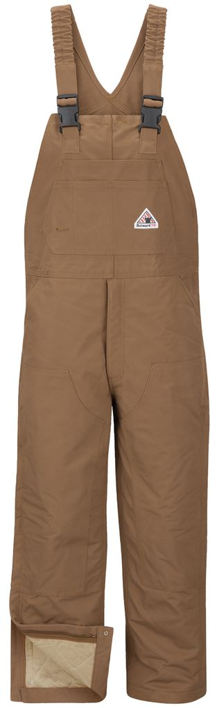 bulwark-fr-bib-overalls-bln6-heavyweight-insulated-with-knee-zip-brown-duck-front.jpg