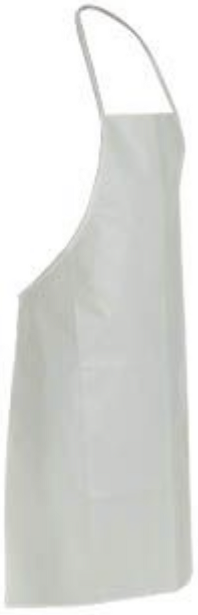 "DuPont Tyvek Apron - Disposable with 28""x36"" Bib - TY273BWH"