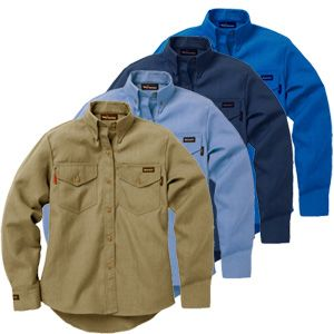 Workrite Fire Resistant Safety Shirt 290NX45/2904 - 4.5 oz Nomex® IIIA, Utility Style