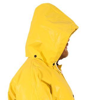 Tingley H12107 Magnaprene™ Flame Resistant Detachable Rain Hood - Neoprene Coated, Chemical Resistant Side