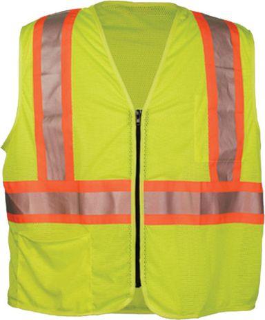 OK-1 Mesh Safety Vest ILDOTMZ in Yellow