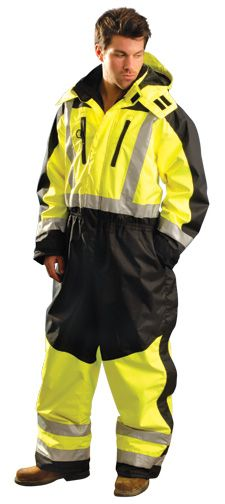 Occunomix Speed Collection Premium Cold Weather Coverall SP-CVL Left