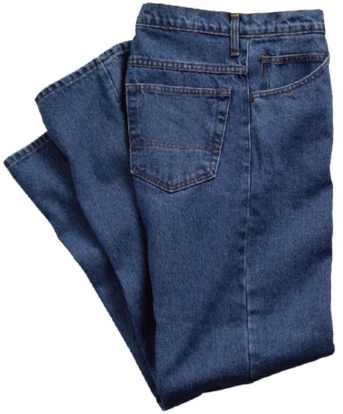 CPA Model-606-IND-DNM Blue Denim Work Jean Pants