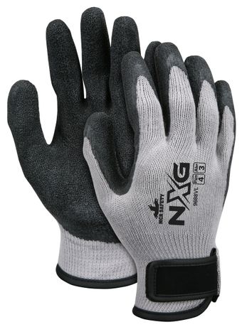 MCR Safety FlexPlus Gloves 9688V with Textured Latex and Velcro Wrists