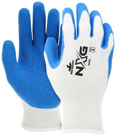 MCR Safety FlexTuff Gloves 9680 with Textured Latex Palms