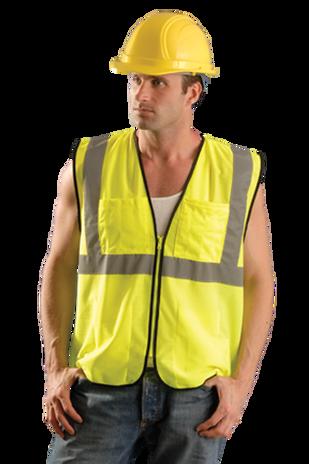 Occunomix eco-gcs mesh suveryor vest yellow