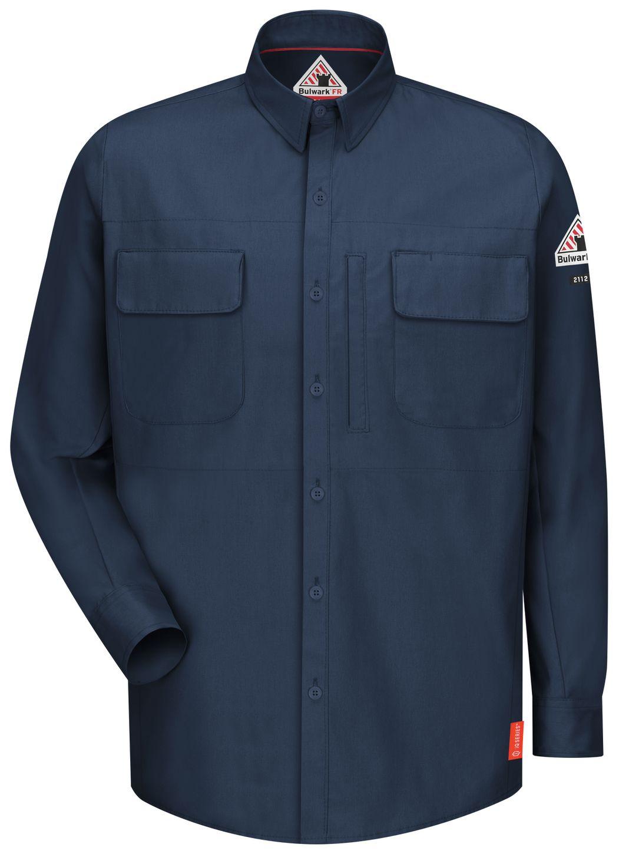 bulwark-fr-shirt-qs32-iq-series-comfort-woven-long-sleeve-patch-pocket-dark-blue-front.jpg