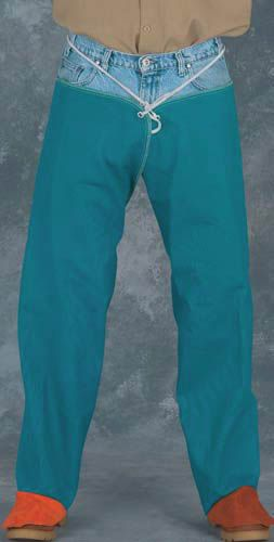Chicago Protective 470-GR FR Cotton Hip Leggings, 9 oz