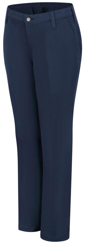 Workrite FR Women's Pants FP45, Station No. 73 Uniform Navy Front
