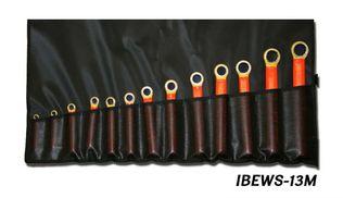 Cementex IBEWS-11 Standard / IBEWS-11M Metric Box End Insulated Wrench Set, 11 PC