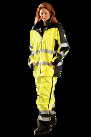 Occunomix SP-BRJ Hi-Viz Breathable Rain Jacket, Class 3 Example