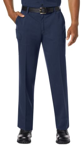 Workrite FR Pants FP44 Navy Example Front
