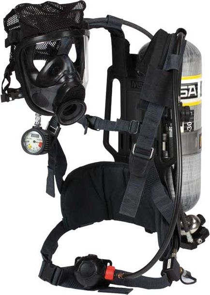 MSA AirHawk II SCBA with Advantage 4000 Facepiece