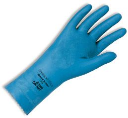 Ansell Natural Blue 356 Light Duty Unlined Latex Gloves