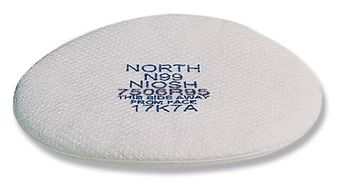 North Safety 7506R95 Respirator Pre-Filters, R95