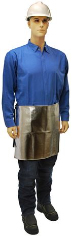 Otterlayer aluminized apron waist front full height AW1-ACF