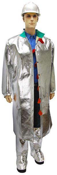 Otterlayer aluminized suit knee leggings 50 open coat C31-ACF