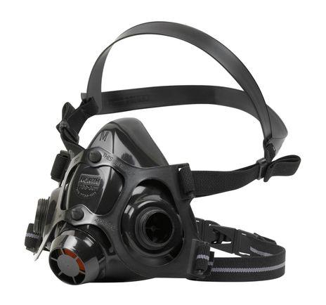 north safety 7700-series half mask respirator