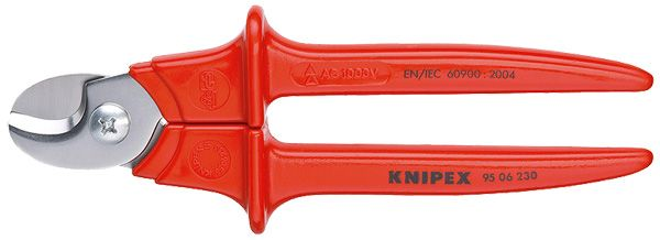 Knipex Insulated Cable Shears Tool 95 06 230