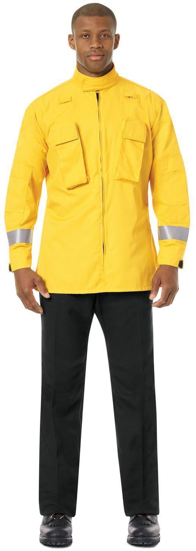 Workrite FR Pants FP30 Wildland Dual-Compliant Uniform Black Example Front