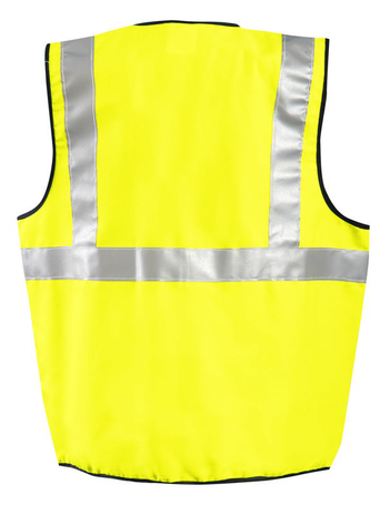 Occunomix High Visibility Class II Arc Flash Rated Vest LUX-SSCGFR Back