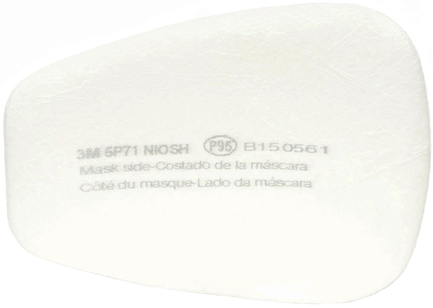 3M 5P71 P95 Particulate Filter Front
